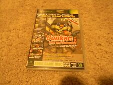 CONKER LIVE AND RELOADED, XBOX DEMO, GREAT SHAPE