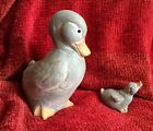 Isabel Bloom Rare Mama Duck 8 In Baby Duck 3 In Signed Discontinued