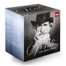 MUTI/KARAJAN/LEVINE/CALLAS/VAR - THE GREAT OPERAS 35 CD OPER KLASSIK NEW+ VERDI