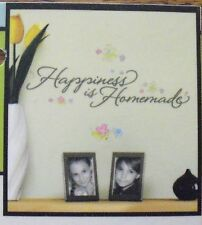 """Main Street Wall Creations""""Happiness is Homemade"""" Wall Sticker Decal"""