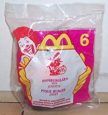1998 McDonalds Haunted Halloween Hamburglar Happy Meal Toy #6 MIP
