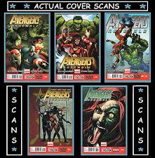 Avengers Assemble #9 10 11 12 & 13 (2012-2013) 5-Issue Comic Lot Marvel (VF+/NM)