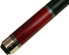 Players C960 Birdseye Maple Red Stain Pool/Billiard Cue Stick + Free Case