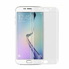 For Samsung Galaxy S6 Edge Full Curved Tempered Glass Screen Protection Clear