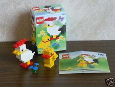 Lego Basic 1264 Oster-Hühner von 2000 mit BA und OVP