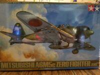 TAMIYA,BIG 1/48 JAPANESE MITSUBISHI A6M5C,ZERO FIGHTER