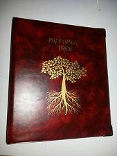 Mi Familia árbol-Historia De Almacenamiento Binder ref rojo con capacidad de 4d de 50 mm de metal