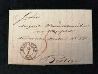 Vorphilatelie Altdeutschland - Brief Faltbrief von 1845     Nr.6