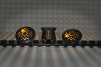 Lego Herr der Ringe 2587pb29 Theoden lor021 Armor + 2x 75902pb02 Schild a. 9474