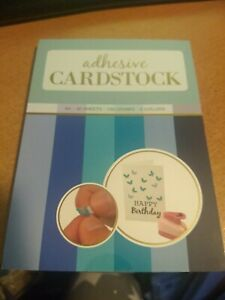 ADHESIVE CARDSTOCK 36 SHEETS SIZE A6/180 GSM /6 COLORS (C)