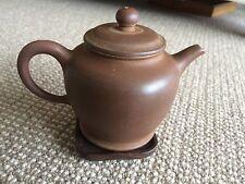 Classic China Yixing Zisha Early 1980's Collectibles  Qing Shui Ni Teapot