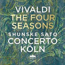 Vivaldi / Sato / Con - VIVALDI: FOUR SEASONS [New CD]