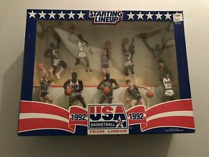 Mint in Bo 1992 Kenner Starting Lineup Basketball USA Olympic Dream Team Set