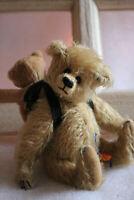 Teddy mit Rucksack zum befüllen Künstlerteddy Limitiert niedlich tolles Geschenk