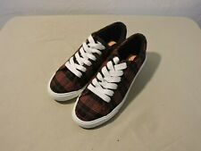 Rocket Dog Womens Campo Altan Cotton Fashion Lace Up Sneakers Red Size 6.5 M