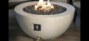 portable outdoor propane fire pit