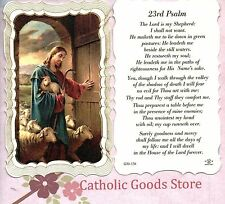 23rd Psalm - Scalloped trim - Paperstock Holy Card