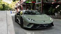 Lamborghini Huracan LP580 / LP610 BKSS Style Front Bumper W/ Carbon Lip