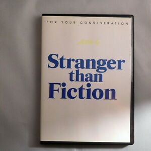 Stranger Than Fiction DVD 2007 Will Ferrell  For Your Consideration