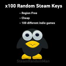 🔥 x100 Random Steam Keys🔥 - REGION FREE Steam games - Wholesale + Giveaways