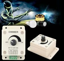 DC 12V 8A Light Dimmer Brightness Controller For Single Color LED Lamp Strip