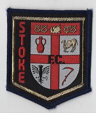 Original Vintage 1970s Football Sew On Patch Stoke City Cloth Badge Unused