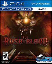 Until Dawn: Rush of Blood VR (Sony PlayStation 4, 2016)
