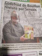JEAN-CLAUDE SERVAIS : GODEFROID DE BOUILLON REVISITE PAR SERVAIS : 21/09/2012