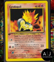Cyndaquil 56/111 1st Edition Neo Genesis Non-Holo WOTC Pokemon Card TCG NM/MT