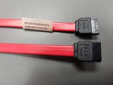 2 x S-ATA SATA Serial ATA Data Cables Intel C13214-001 150MB/s high speed 50cm