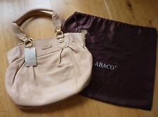 Abaco paris Ladies Beautiful Soft Tan Leather Shoulder Bag, Hardly Used