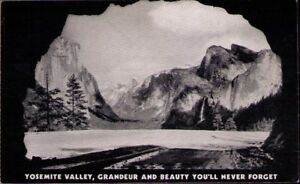 (107a) Standard Oil Postcard: Yosemite Valley