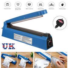 More details for 12'' 300mm hand impulse heat sealer plastic bag film hot sealing machine uk