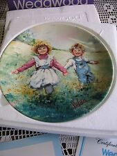 "Wedgwood ""Playtime"" by Mary Vickers 1982 Collectors Plate 2nd in Series"