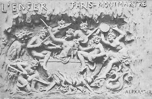 CPA 75 PARIS XVIIIe MONTMARTRE CABARET L'ENFER