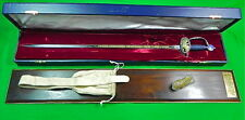 US 1976 Wilkinson English American Independence Limited Low# Presentation Sword