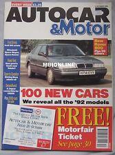 AUTOCAR 2/10/1991 featuring Panhard 24 CT, Seat Toledo 2.0GTi, Lancia Integrale
