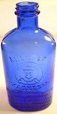 Cobalt Blue Milk of Magnesia Bottle Phillips Brand