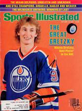 Wayne Gretzky Oilers RC SIGNED Sports Illustrated COA!