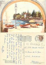 Rapallo - Spiaggia di S. Michele di Pagana - ILLUSTRATORE RAIMONDI (S-L XX174)