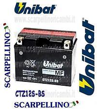 BATTERIA UNIBAT CTZ12S-BS CON ACIDO HONDA CBR SUPERBLACKBIRD 1100-BATTERY-TTZ12S