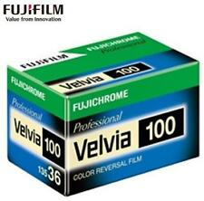 1 Roll Fujifilm Fujichrome Velvia 100 Color Reversal Slide Film 35mm X 36 Exp