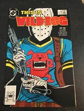 Wilddog#1 Incredible Condition 9.0(1987) Beatty Art!!
