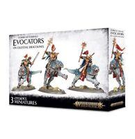 Stormcast Eternals Evocators on Celestial Dracolines - Age of Sigmar - 96-41