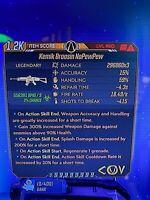 Modded Kemik Broosin NoPewPew high DMG assault rifle borderlands 3 xbox