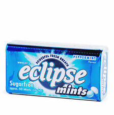 Peppermint NEW Lot of 8 Wrigley's Eclipse Power Fresh Breath Mints Sugarfree