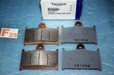 4 plaquettes de frein TRIUMPH SPEED TRIPLE 885 955 DAYTONA SPRINT RS ST TT 600
