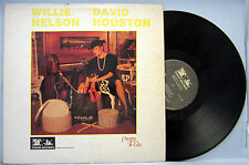 WILLIE NELSON / DAVID HOUSTON  COUNTRY TO CITY LP TUDOR RECORDS TR 1144-04