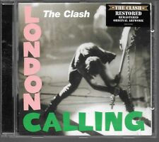 CD ALBUM 19 TITRES--THE CLASH--LONDON CALLING - REMASTERED EDITION--1999