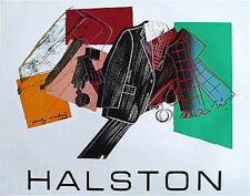 Andy Warhol Serigraph for Halston Men's Wear - Original